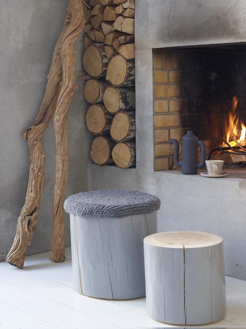 Mi rincÓn de sueÑos: decorar con troncos de madera