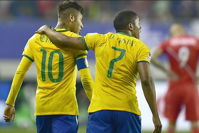 Neymar and Douglas Costa Is Expectation The Brazilian