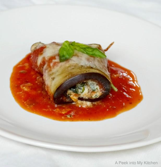 Eggplant  Rollatini ~ Day 16