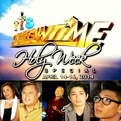 It's Showtime 2014 Holy Week Special Features Stories of Five Contestants