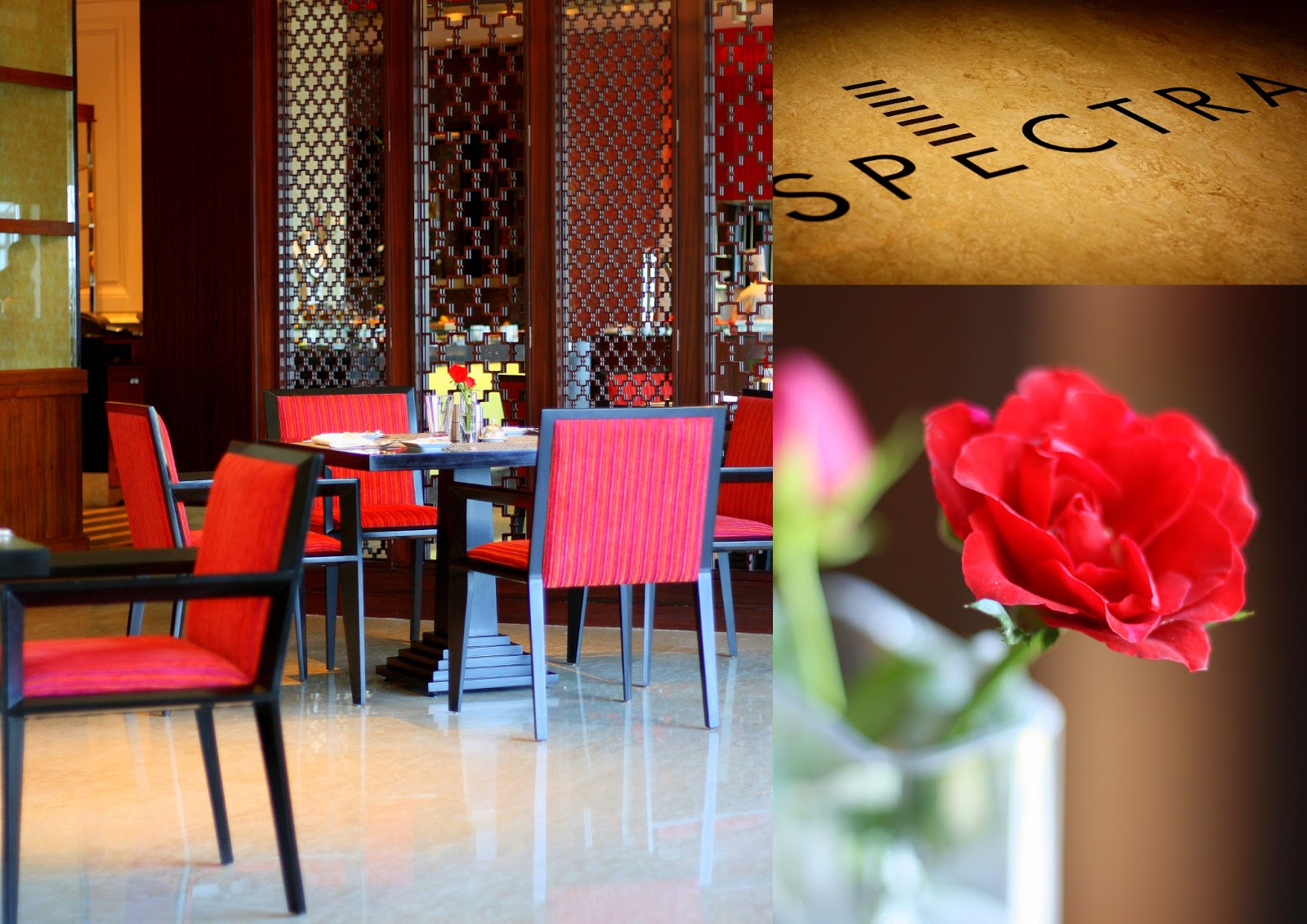 Spectra, The Leela Palace, Chennai   Restaurant Review