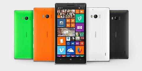 nokia lumia 930 + smartphone tercanggih dan terbaik 2014