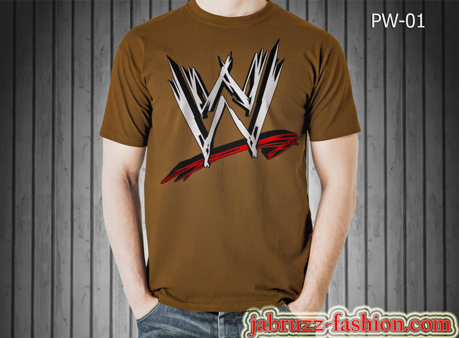 Jual Kaos/T-shirt Logo WWE