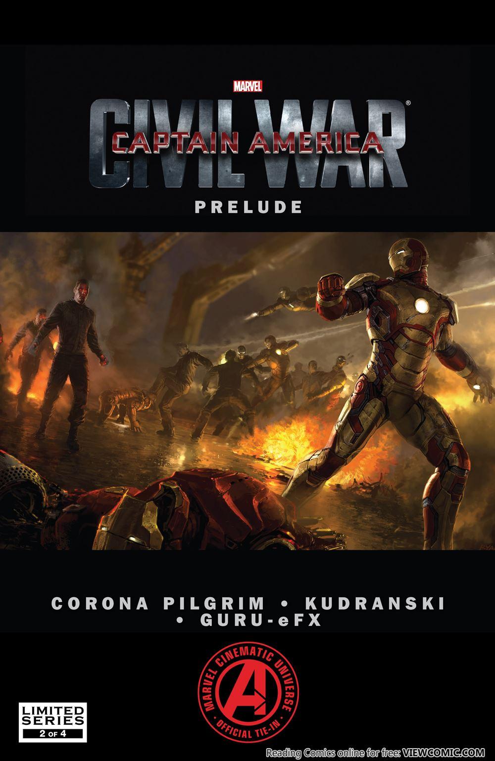 Marvel's Captain America – Civil War Prelude