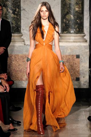 styledelights trend spotlight orange dresses