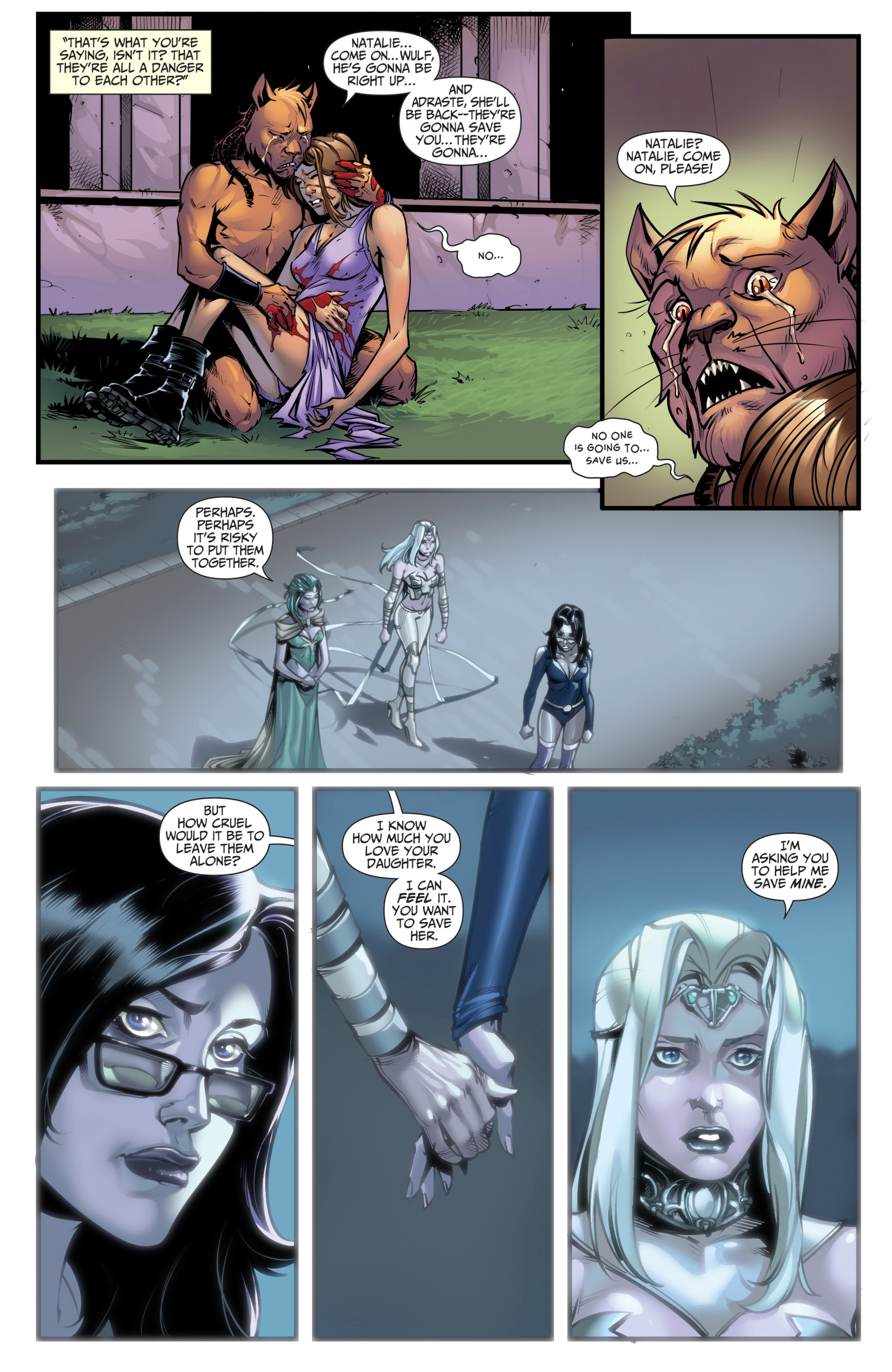 Grimm Fairy Tales (2005) Issue #111 #114 - English 5