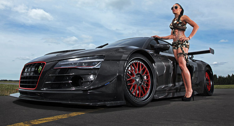 Recon Mc8 Is A 950ps Rwd Carbonfiber Bodied Audi R8 V10 Plus