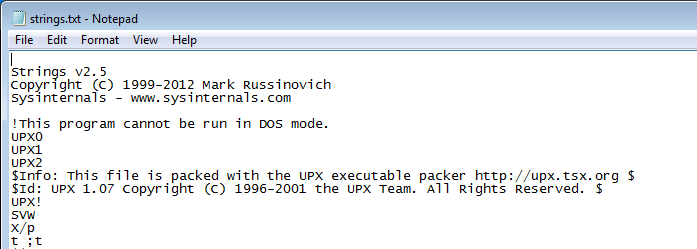 The Ultimate Packer for eXecutables