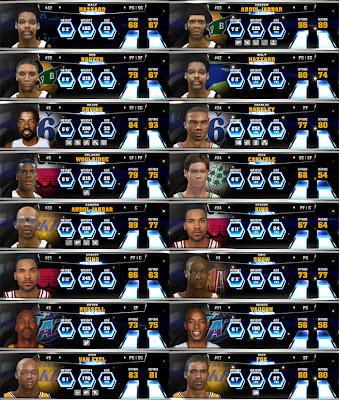 NBA 2K14 Missing Legends