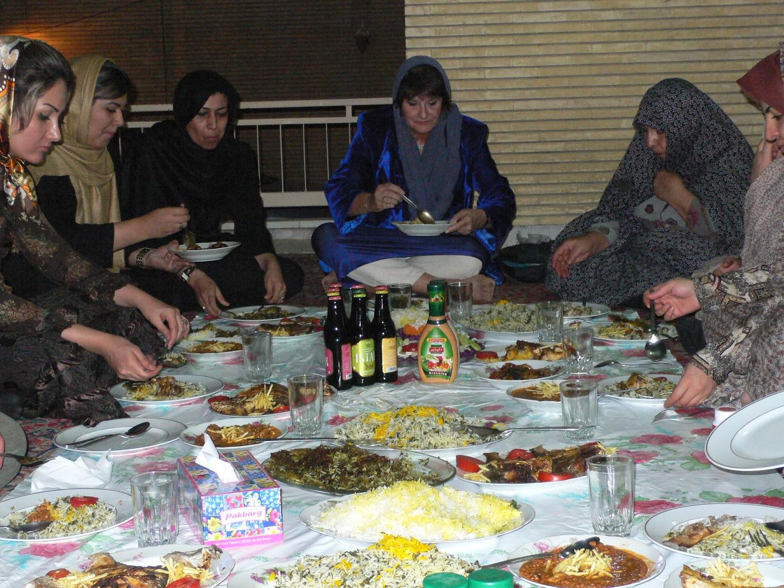 Pasión Viajera de Ana M Briongos: La cocina persa
