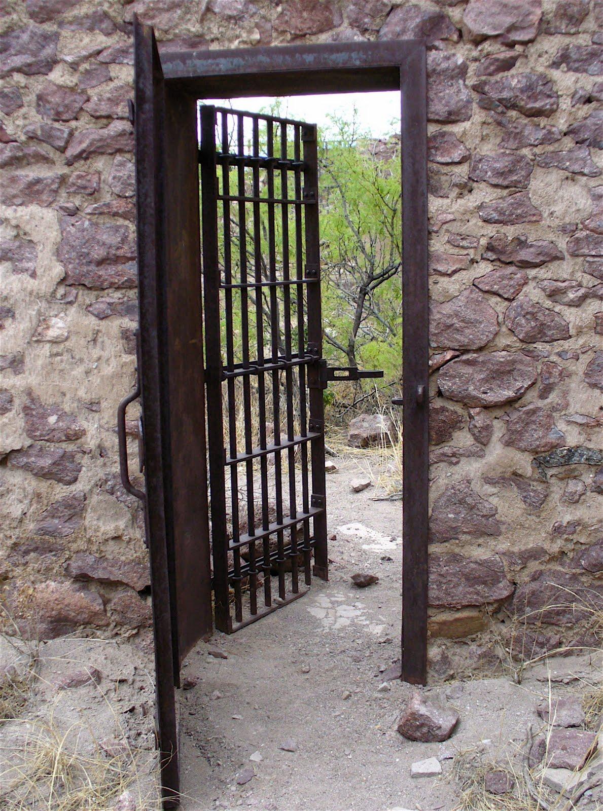 Security doors solid metal
