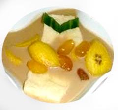 kolak campur pisang kolang-kaling tape