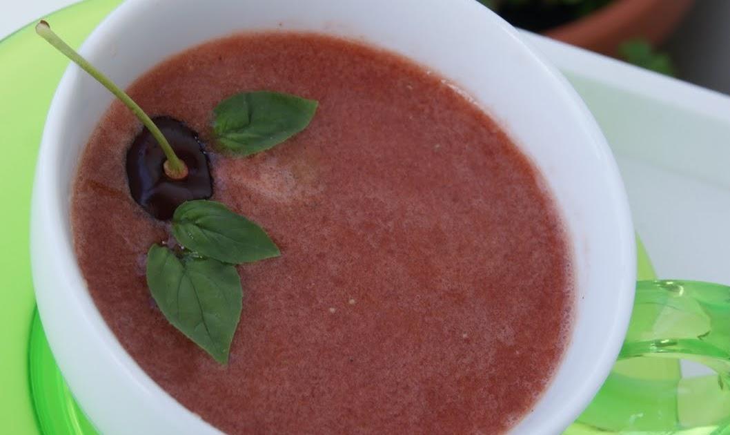 Simplemente cocinera gazpacho con cerezas de pakus para - Lazy blog cocina ...