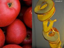 Lav tørrede æbleringe