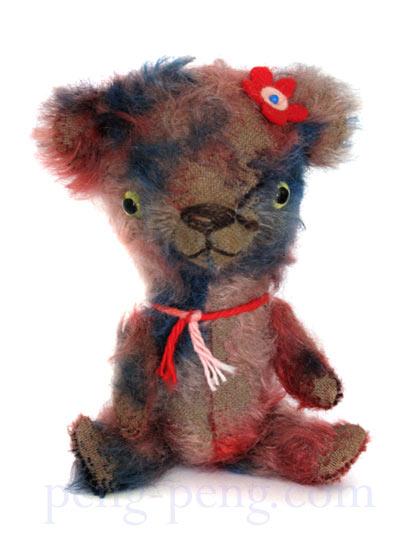 american mohair stick bear