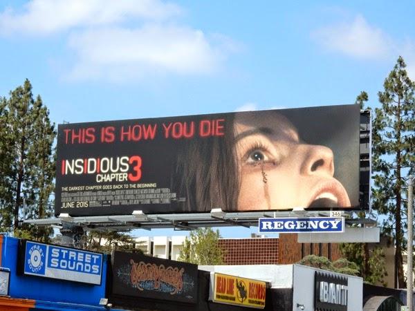 Insidious Chapter 3 movie billboard