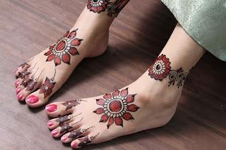 Gorgeous Bridal Mehndi Designs : Mehndi ka rung: rung gorgeous bridal design on feet