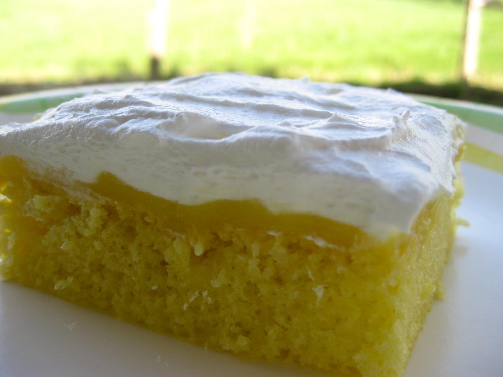 Time For Supper!: Lemon Pudding Cake