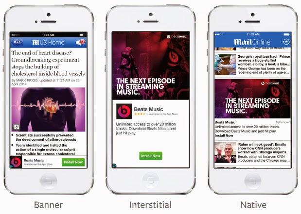Format iklan mobile ads