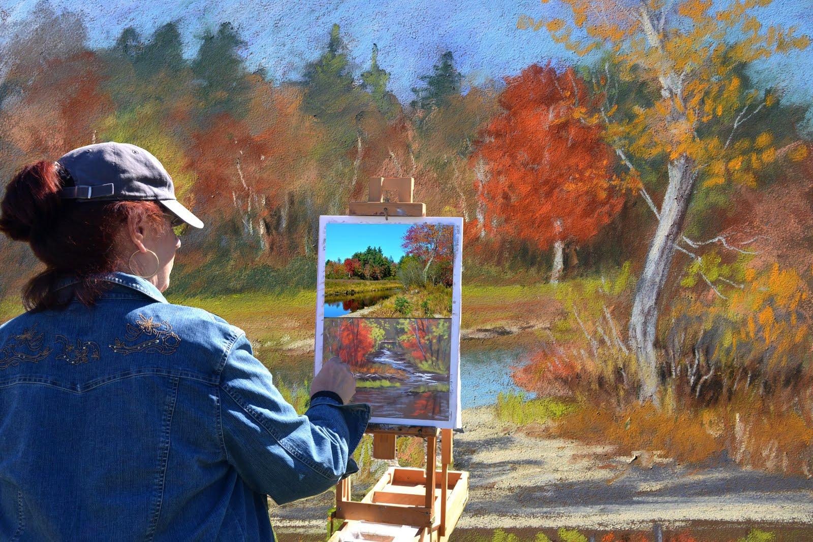 Nita Plein Air painting