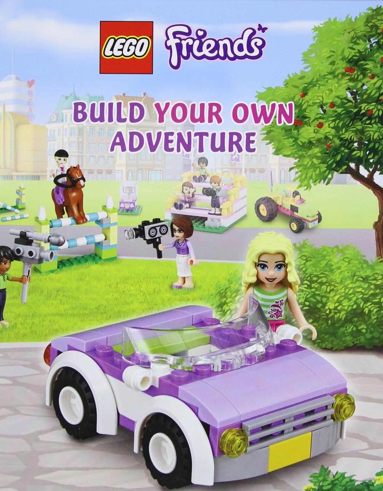 Brick Friends Lego 11908 Friends Build Your Own Adventure Parts