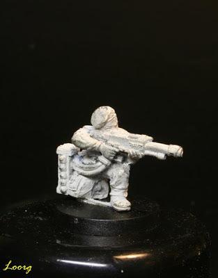 Cargador de los comandos de choque de la Guardia Imperial