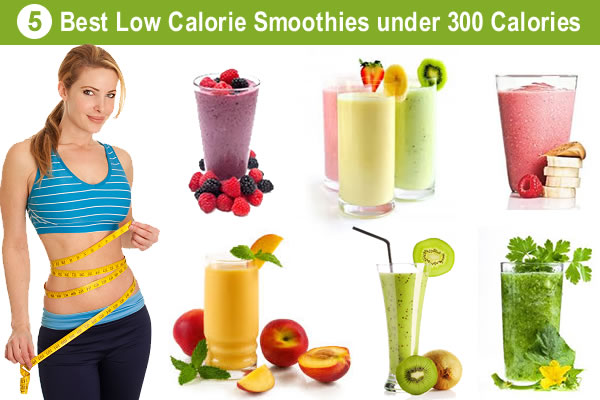5 Best Recipes for Low Calorie Smoothies under 300 Calories