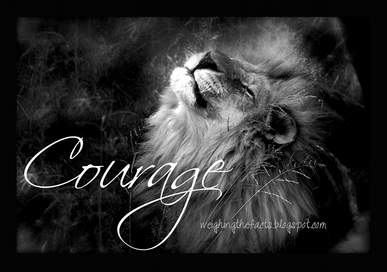 Lion Strength Courage ...