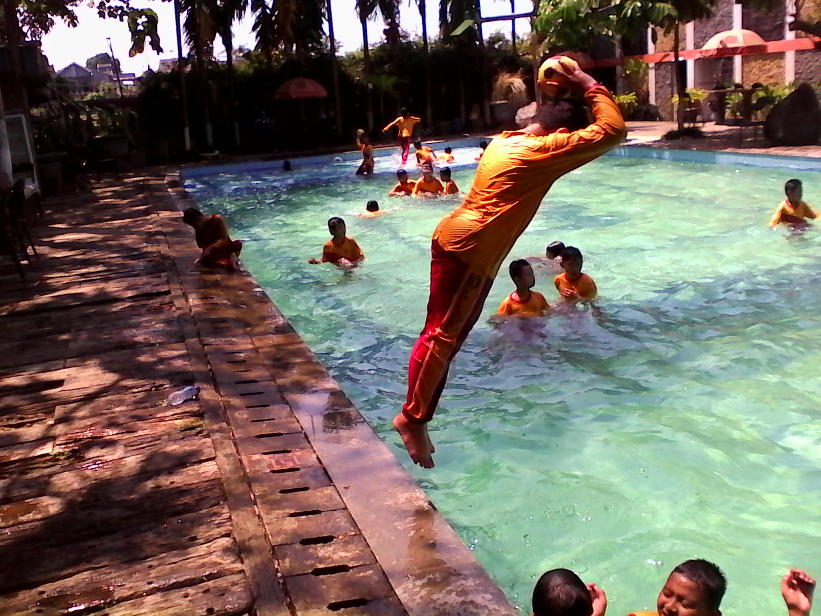 renang,sdii al abaidin,swimming,outing class