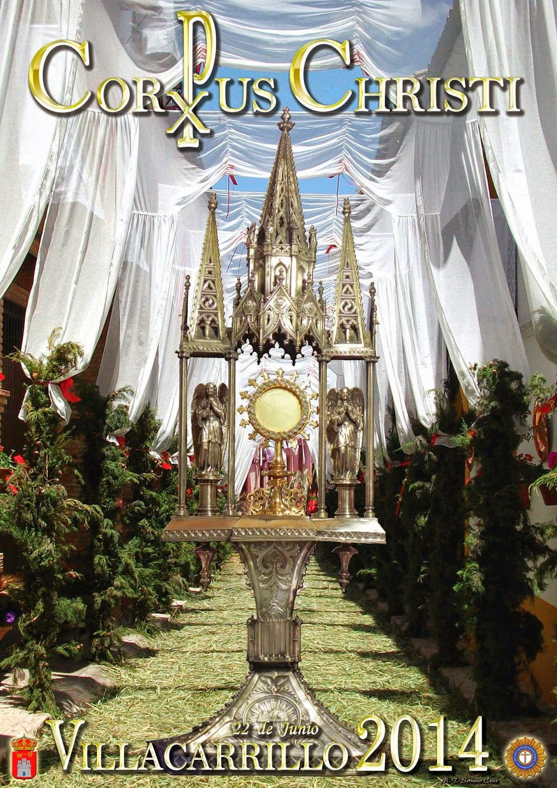 Fiesta del corpus christi 2014 aznalfarache for Azulejeria antigua cordoba