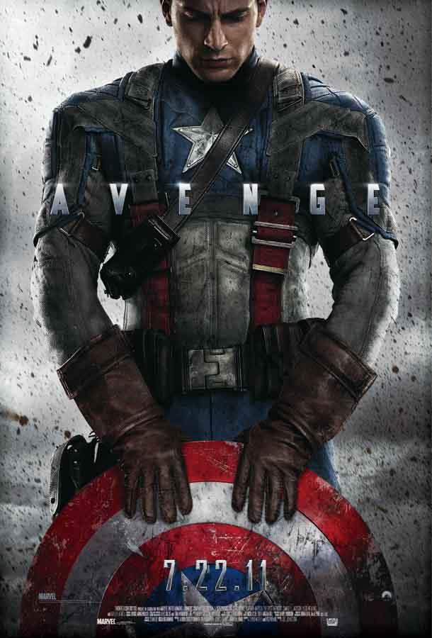 Captain America Poster Movie 2013