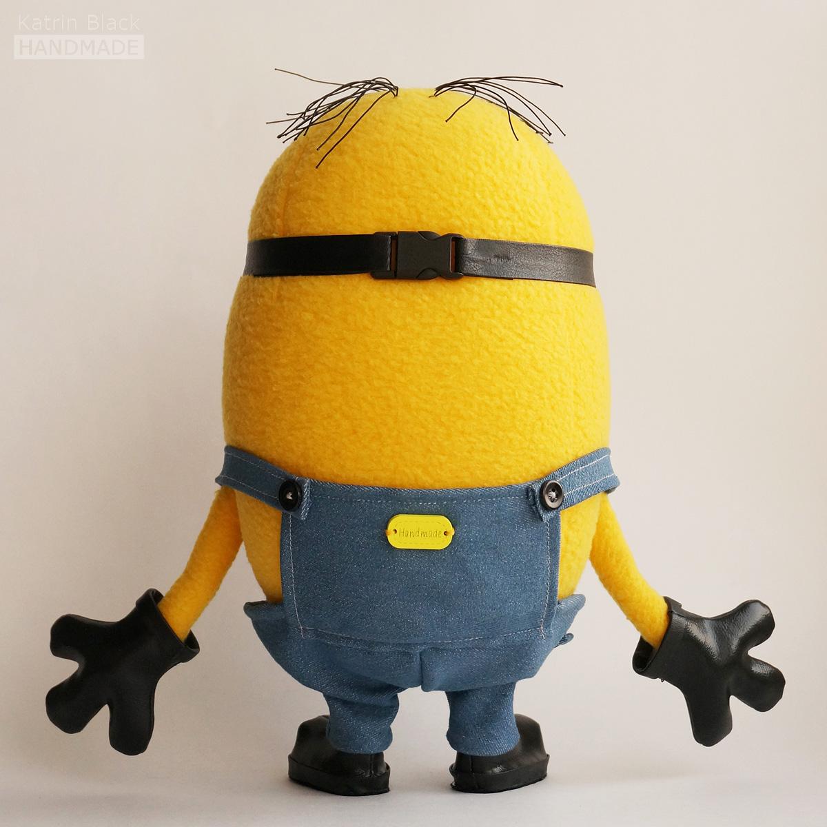 Миньон - мягкая игрушка ручной работы. Handmade soft toy Minion.