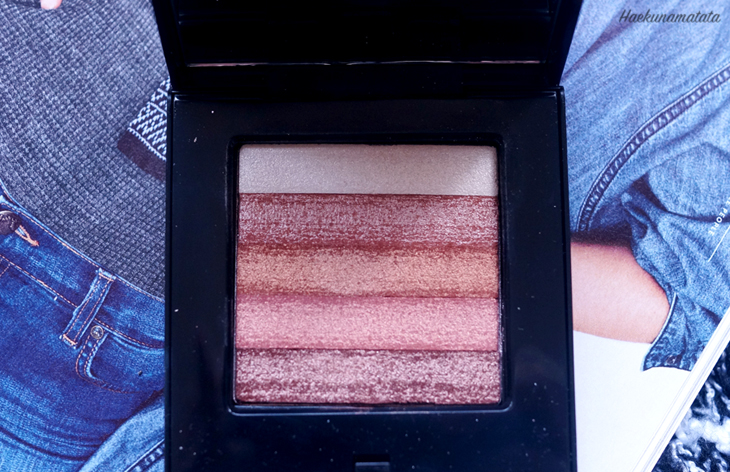 Bobbi Brown Bronze Shimmer Brick Review Swatch and FOTD