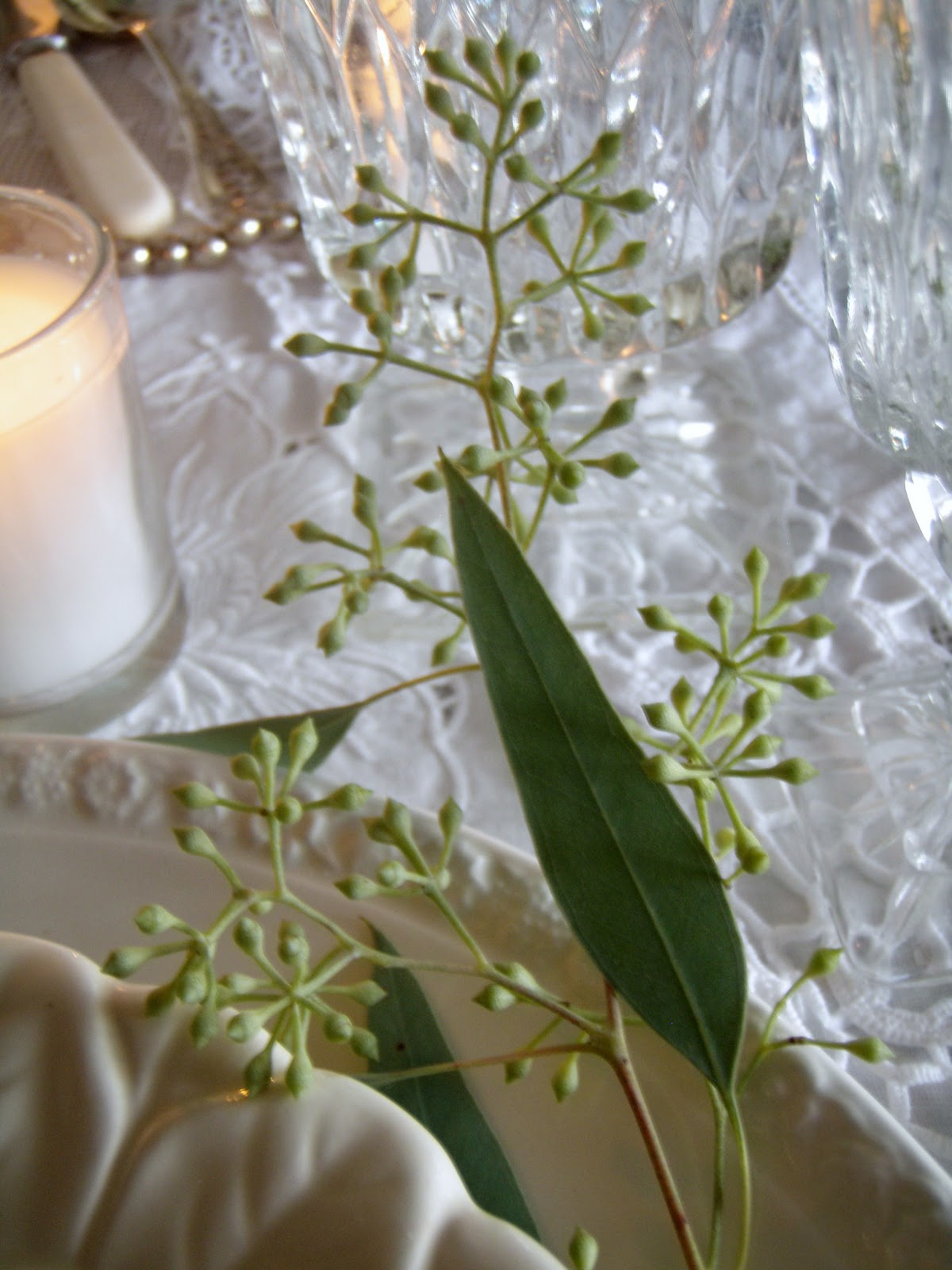 Adore The Elegant Simplicity Of Seeded Eucalyptus, And It's