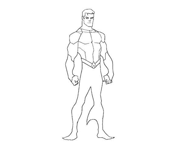 Aquaman Coloring Pages Printable
