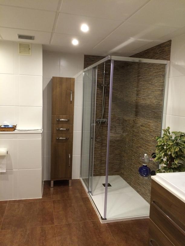 Mueble Para Baño Sobre Inodoro:Reforma de baño con inodoro de cisterna empotrada ~ Reformas Guaita