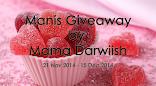 MANIS GIVEAWAY BY MAMA DARWIISH