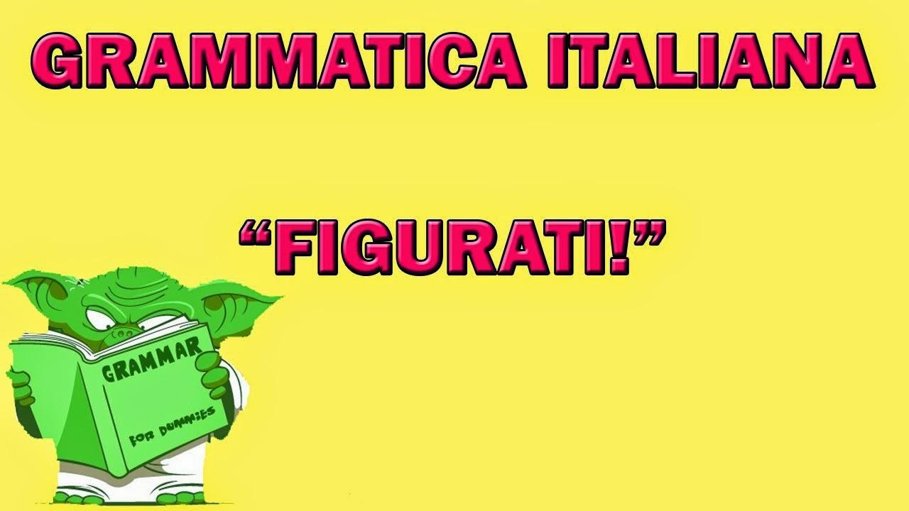 olasz szleng figurati