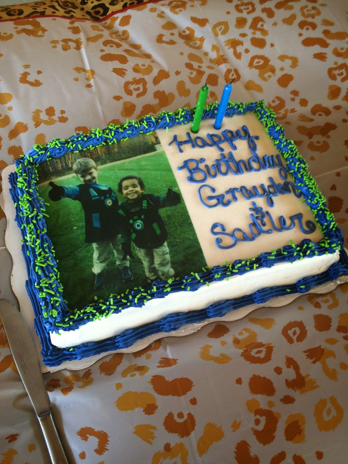I Had A Hard Time Coming Up With Cake Idea So Instead Walmart Did This Photo Picture Of Them In Their Wild Kratt Costumes From Halloween