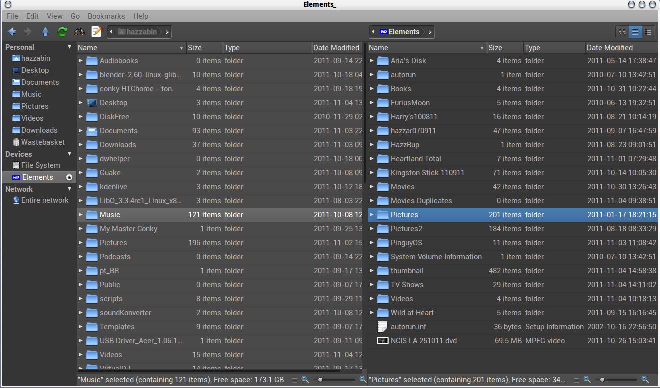 marlin file browser