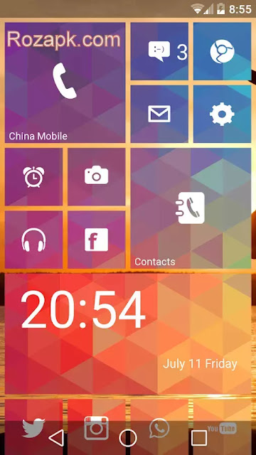 Launcher 8 Pro v2.6.8 Cracked Apk For Android