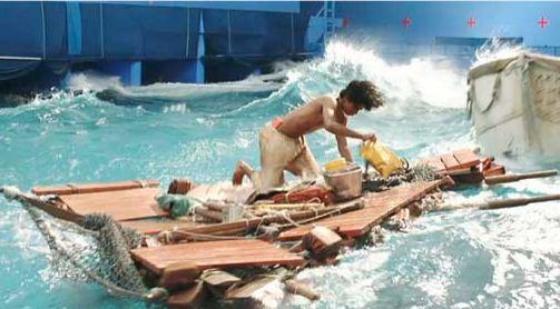 As aventuras de pi confira como tudo foi feito tudo for Life of pi pool scene