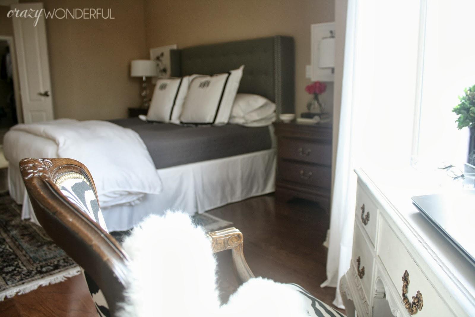 Tufted Headboard Master Bedroom Crazy Wonderful