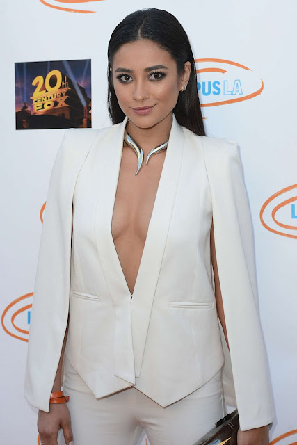 Shay Mitchell Lupus LA Orange Ball And A Night