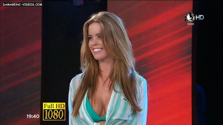 Argentina Model Melisa Engstfeld big boobs clavage HD video