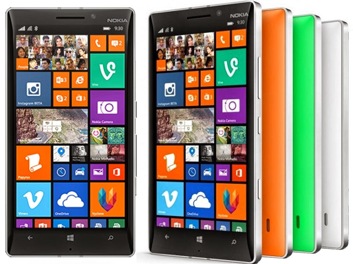 Harga Hp 4G LTE Nokia Lumia 930