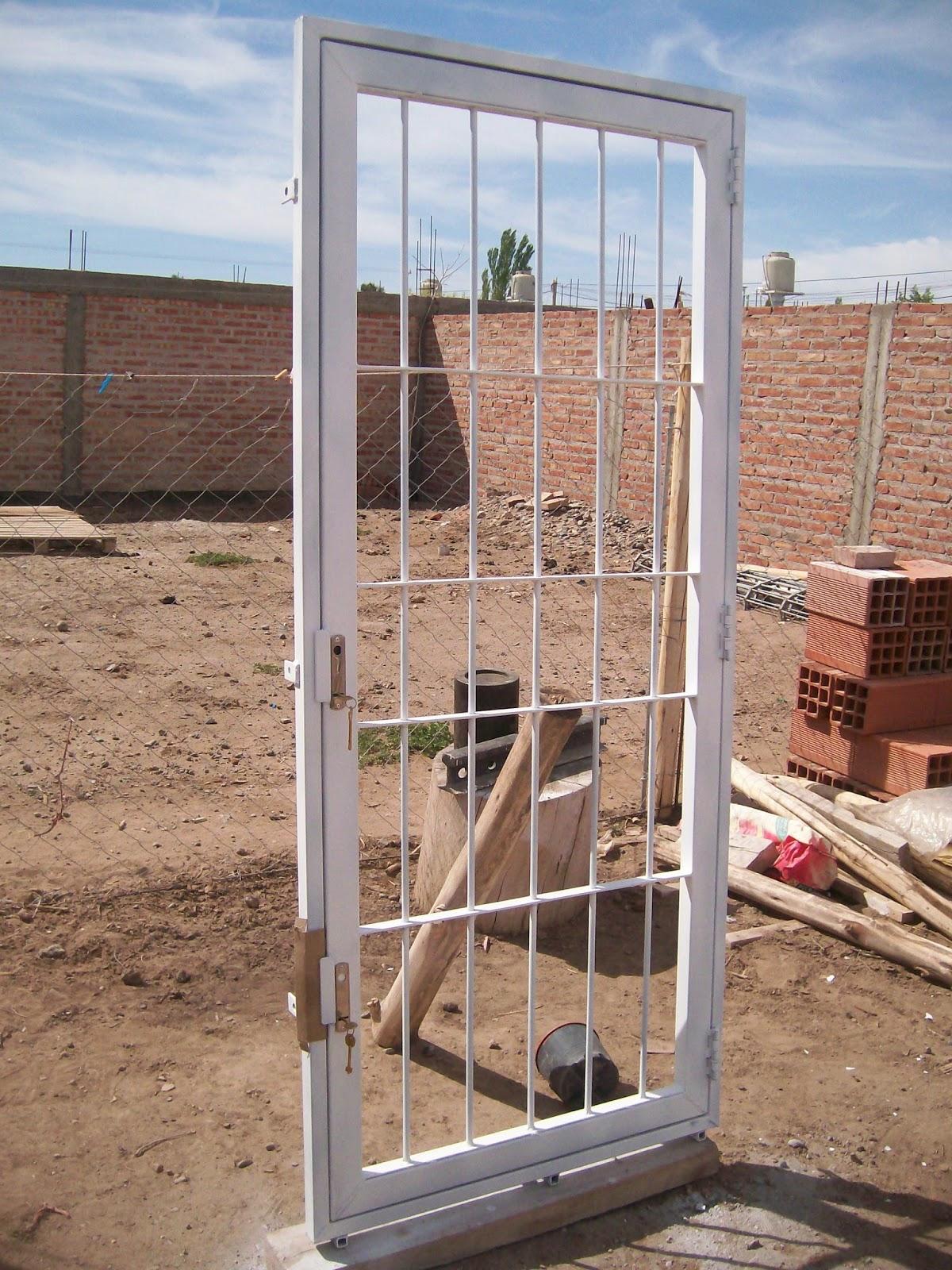 Forja Neuquén: Puerta reja de seguridad