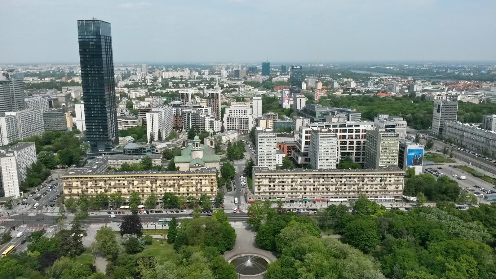 bilim ve kültür sarayı varşova Pałac Kultury i Nauki