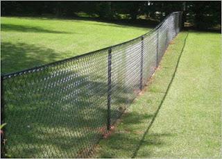 Забор из сетки-рабицы. Фото 6