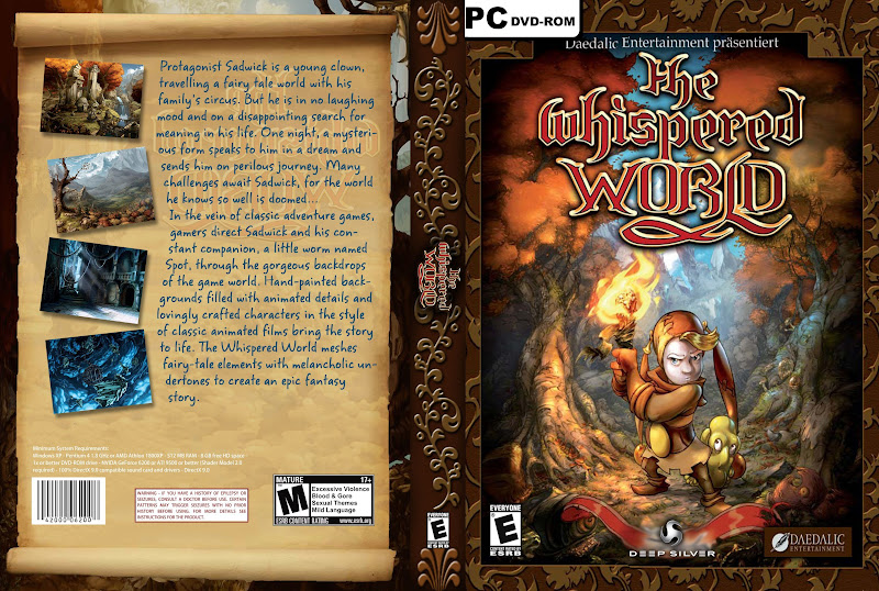 Capa The Whispered Word PC